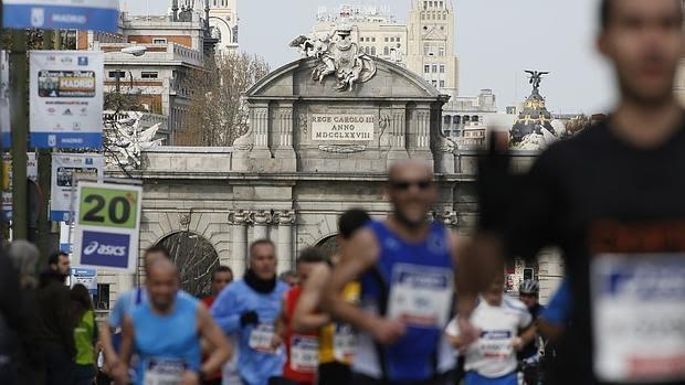 Imagen de la Maratón de Madrid 2016