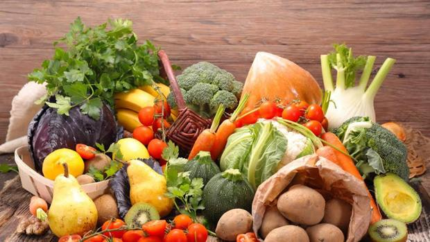 Las frutas y verduras son ricas en antioxidantes