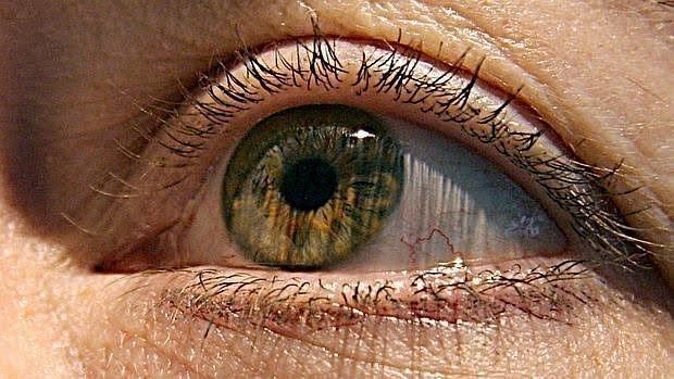 Persona afectada por glaucoma
