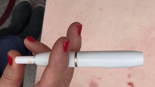 Dispositivo que no quema el tabaco