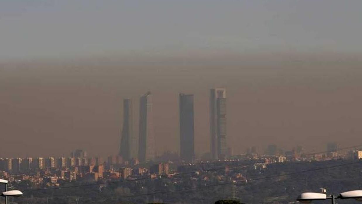 Mala calidad del aire en comparación con fumar