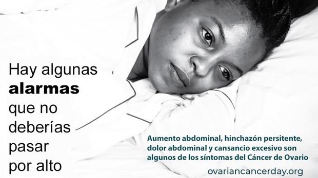 Cartel del Día Mundial del Cancer de Ovario