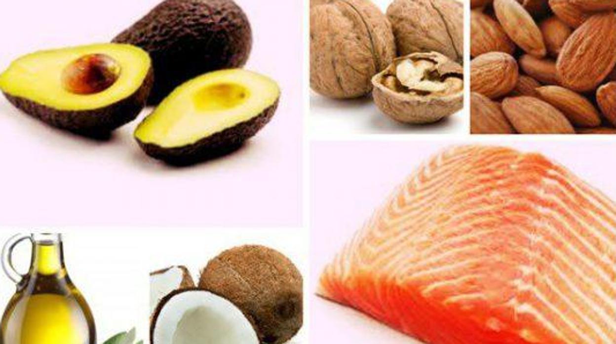 comidas altas en grasas y bajas en carbohidratos