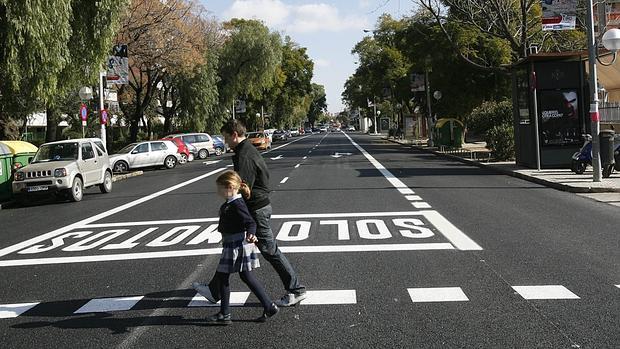 La Policía Local busca a un taxista que el sábado atropelló a una niña y se dio a la fuga en Sevilla