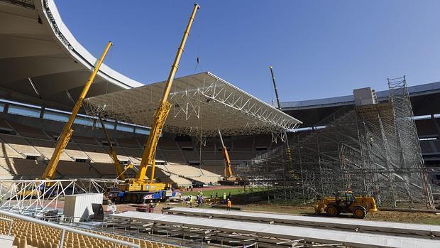La cubierta de la Copa Davis de 2011 suma ya 47.000 euros por su almacenamiento
