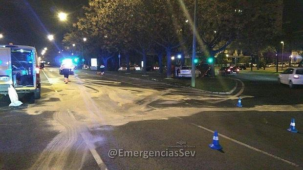 Dos heridos tras el choque de dos vehículos en Kansas City