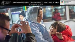 Cartel de la campaña de la Jornada Mundial del Emigrante y video de Youtube