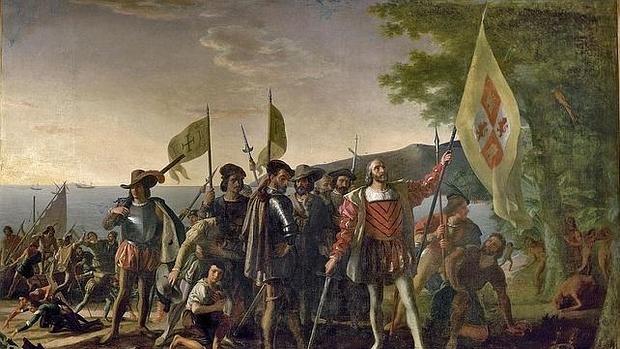 «La llegada de Colón», de John Vanderlyn