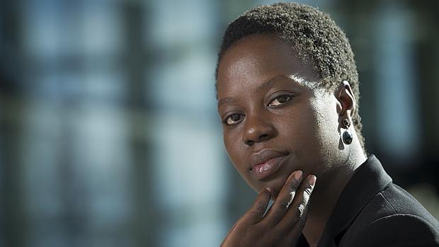 Charlotte Alvarenga, trabajadora de Plan Internacional en Guinea Bissau,