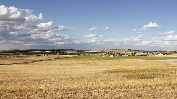 Terrenos de Villar de Cañas, localidad conquense donde está previsto construir el Almacén Temporal Centralizado de residuos nucleares