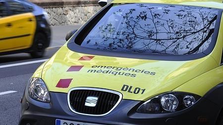 En la imagen, un vehículo de Intervención Rápida (VIR) del Servicio de Emergencias Médicas (SEM) de la Generalitat
