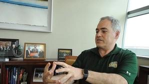 Ángel Cabrera, durante la entrevista concedida a ABC en Virginia (Estados Unidos)