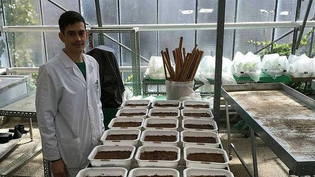 El biólogo Ciro Cabal, en una imagen de Facebook