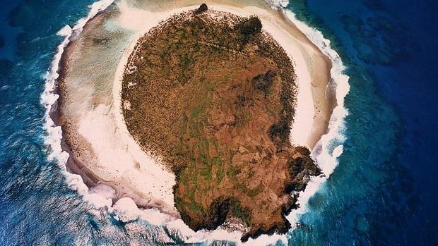 Isla de Anuta, en el archipiélago de las Islas Salomón, en el Pacífico