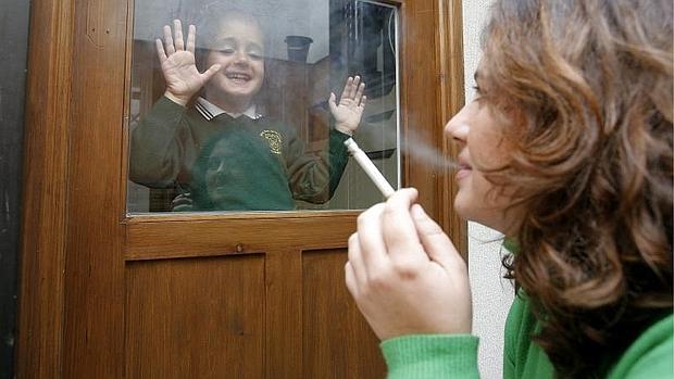 El tabaquismo pasivo daña a los niños