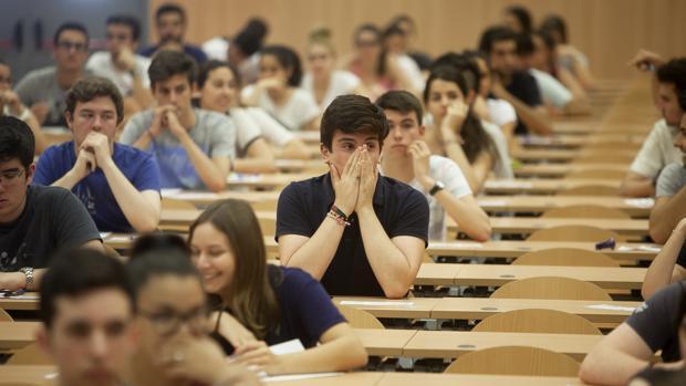 buscador de notas de corte de las universidades españolas