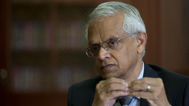 El climatólogo Veerabhadran Ramanathan