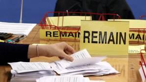 El «Remain» sólo se impuso en Londres, Escocia e Irlanda del Norte