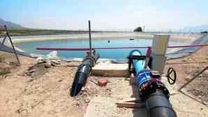 Regantes Vega Baja en su lucha por el agua del trasvase Tajo-Segura
