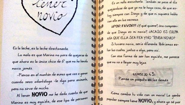 Uno de los consejos del polémico libro «75 consejos para sobrevivir en el colegio»