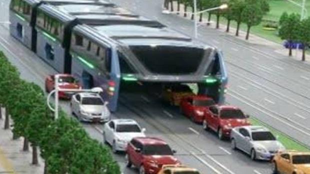 El autobús chino del futuro podría ser un fraude