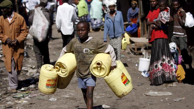 Los niños africanos supondrán el 43% de la pobreza mundial
