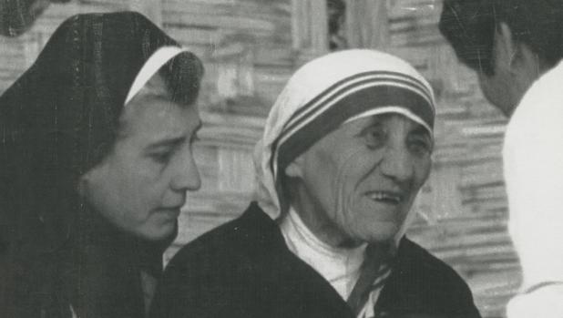 La madre Teresa de Calcuta en Lima en 1989