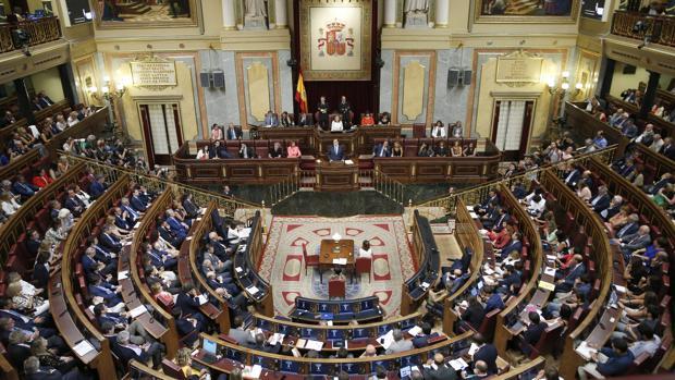 El Pleno del Congreso celebrará su primer Pleno el próximo día 27