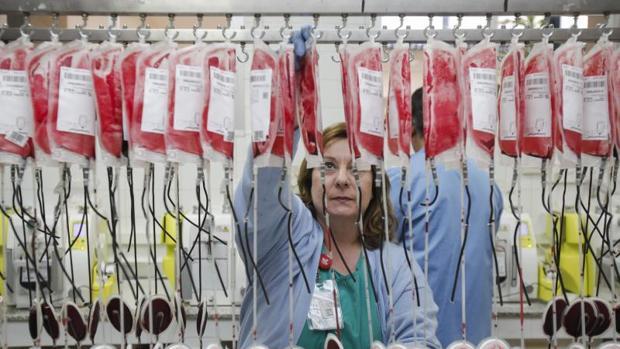 Banco de sangre para transfusiones
