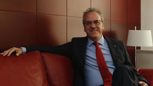 El presidente de los rectores españoles, Segundo Píriz