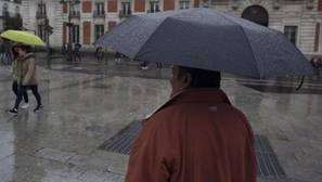 Una borrasca atlántica dejará intensas lluvias en casi todo el país desde mañana y hasta el próximo miércoles