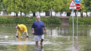 Inundaciones en Sevilla