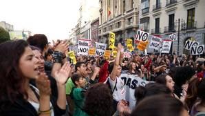 Solo el 12% de los profesores y el 30% de los alumnos secundan la huelga contra las reválidas de la Lomce
