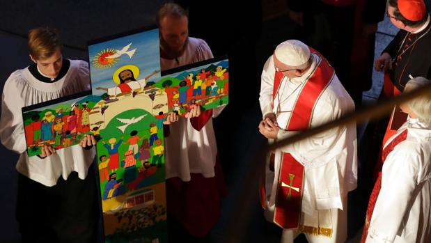 Resultado de imagen de 500 años de la reforma y papa francisco