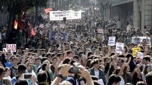 Los estudiantes llaman de nuevo a la huelga contra las reválidas y exigen una reunión con el ministro