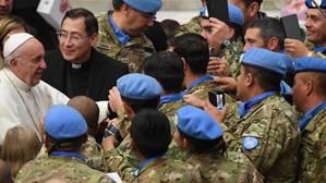 El Papa bromea advirtiendo: «Felicitarme por adelantado trae mala suerte»