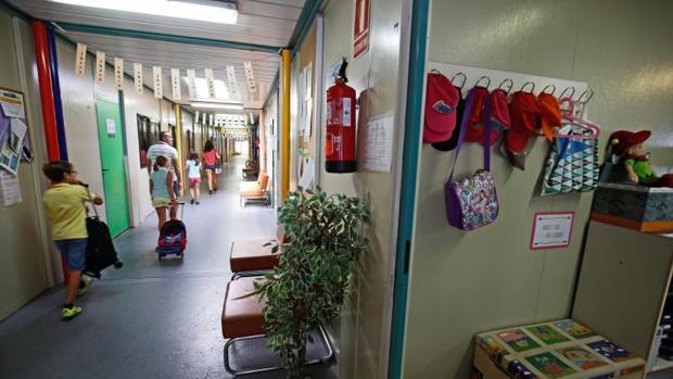 Un colegio público en Valencia
