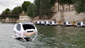Taxis voladores contra la contaminación