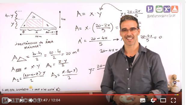 David Calle, en uno de sus vídeos