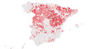 Más de 4.000 municipios españoles están en riesgo de extinción