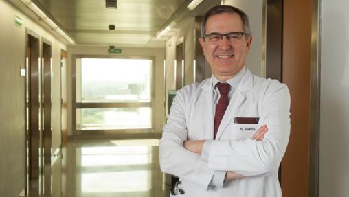 Algarra es director de Oncología de la Clínica de la Universidad de Navarra