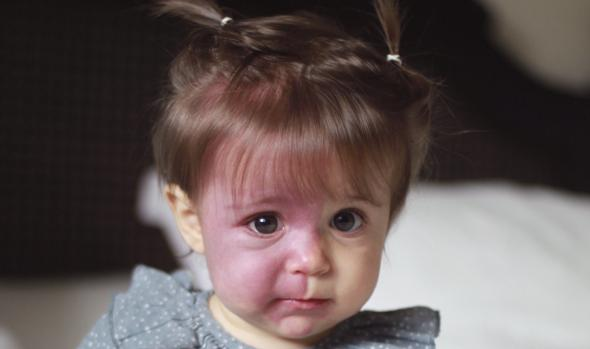 Pía llegó a estar en coma en un hospital de Madrid