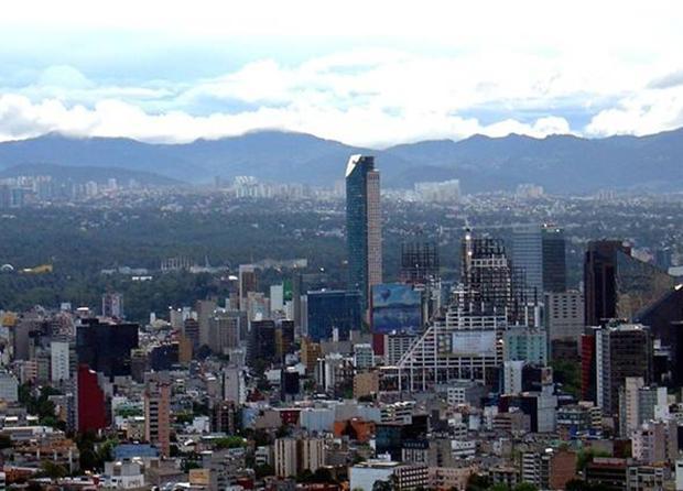 El cambio climático hunde la ciudad de México