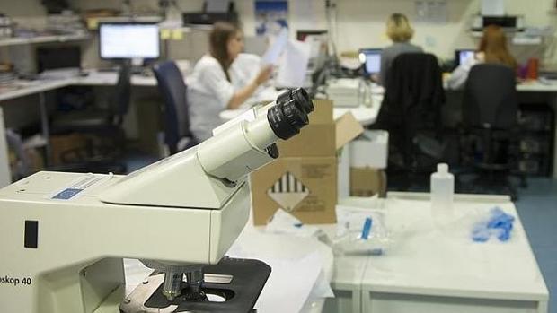 Uno de los laboratorios del Hospital Gregorio Marañón