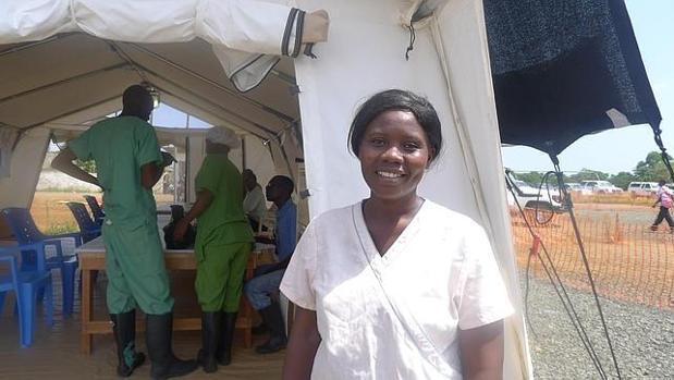 Salome Karwah ayudaba a MSF tras superar el ébola