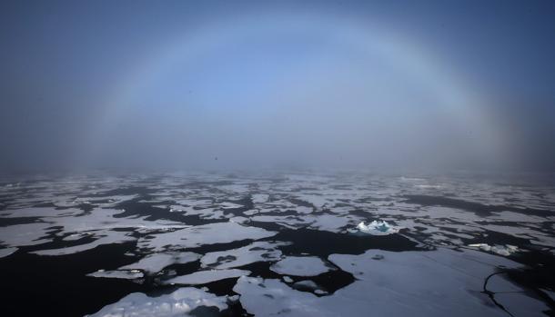 Imagen del Ártico de 2013