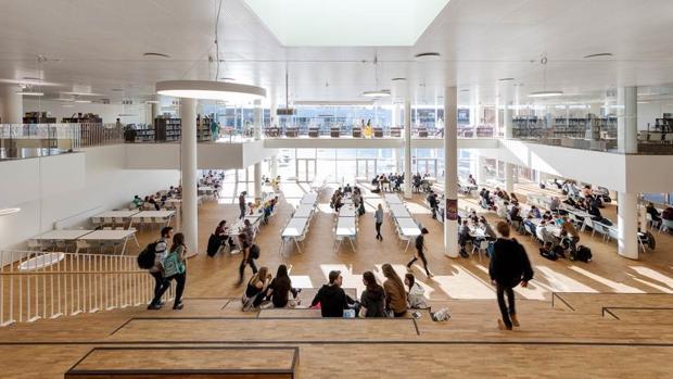 El colegio es un ejemplo de arquitecttura sostenible