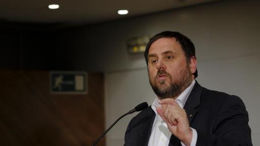 Oriol Junquera, presidente de ERC