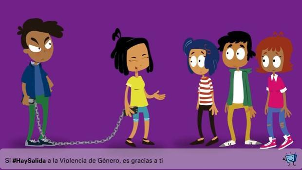 Una de las imágenes de la campaña