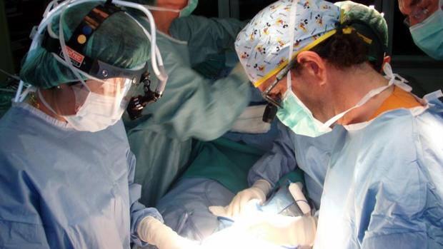 Un trasplante realizado en el hospital Vall D'Hebrón, Barcelona